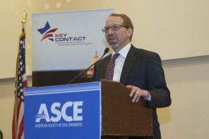 USDOT's Peter Rogoff addresses the group
