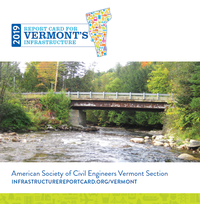 vermont infrastructure 2019 report card